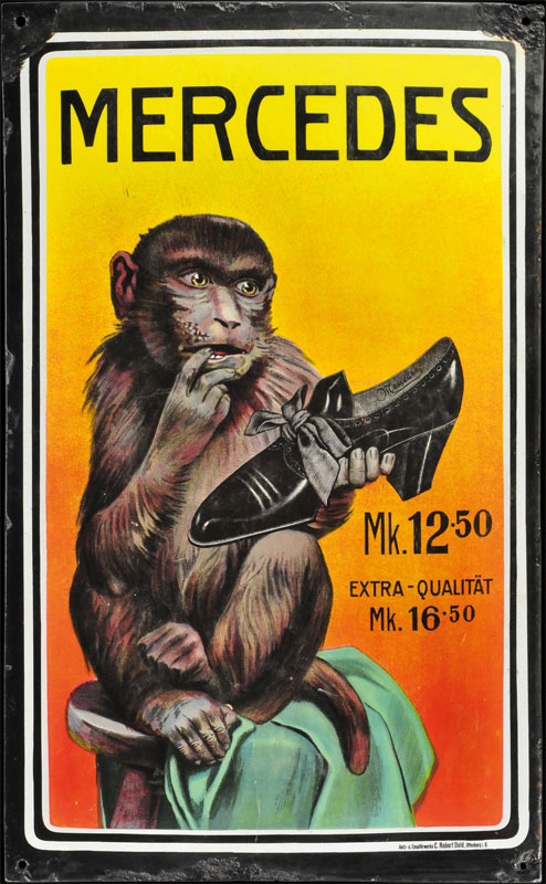 Emailleborden  JOHN THOMAS Cigarettes  37 Micky Waue
