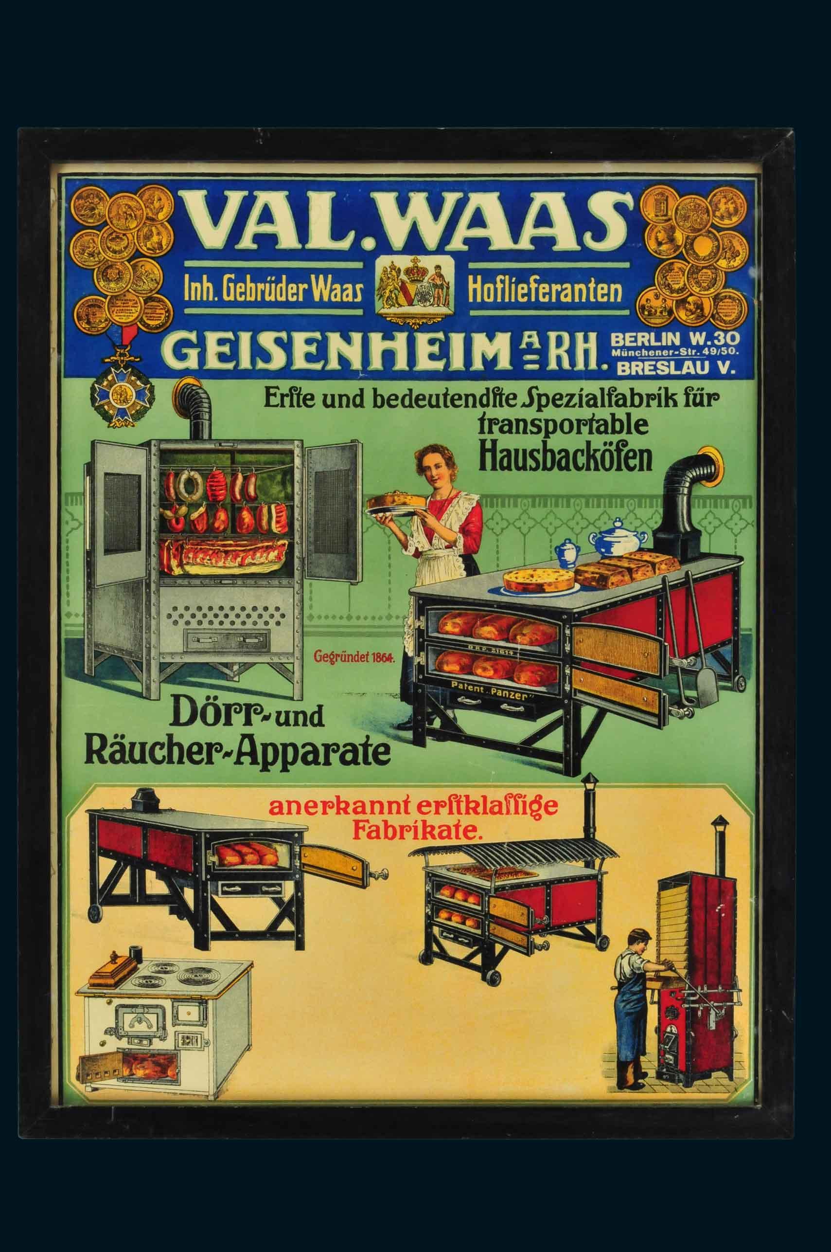 Reklame- und Emailschilder - 33. Auktion Micky Waue